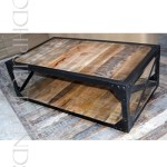 Industrial Coffee Table | Tables & Chairs For Coffee Shop
