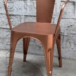 Outdoor Cafe Chair in Cool Copper | Funky Restaurant Chairs