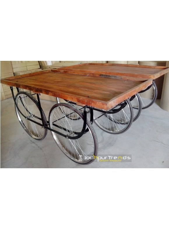Food Service Cart with Wheel | Industrial Wheels for Furniture