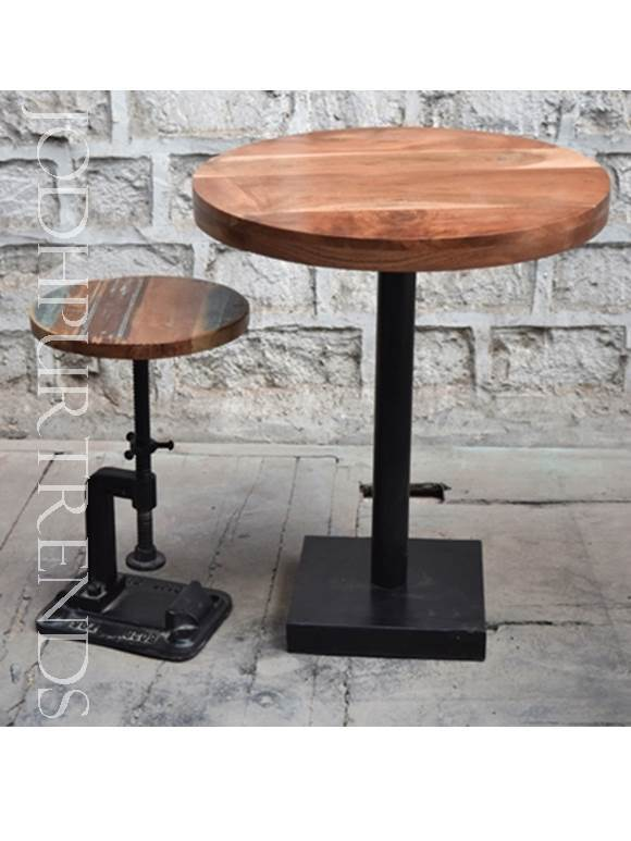 Small Bar Table | Industrial Bar Furniture Table