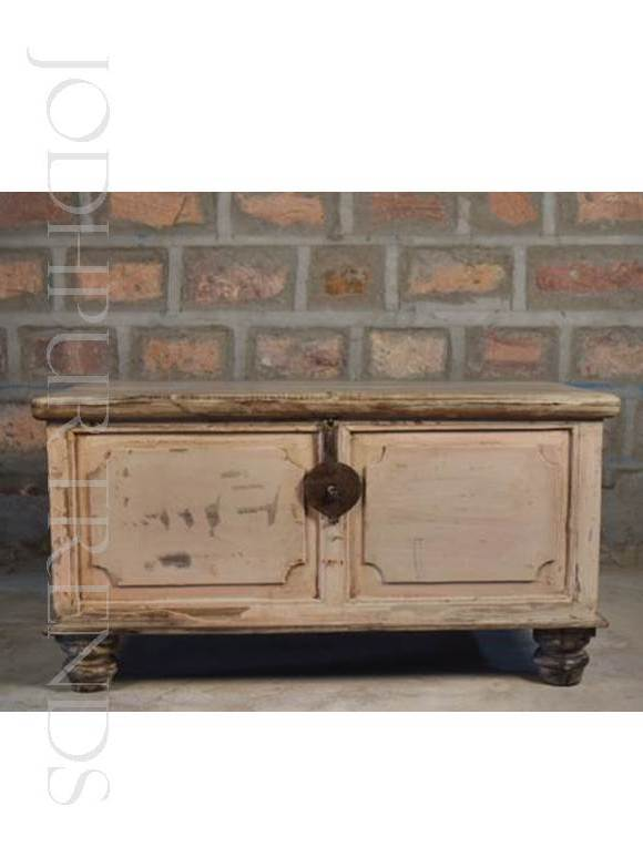Antique Indian Trunk Furniture | Vintage French Furniture