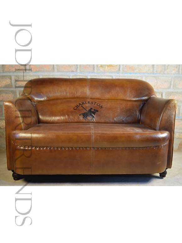 Bespoke Loveseat in Leather | Genuine Leather Sofa Set