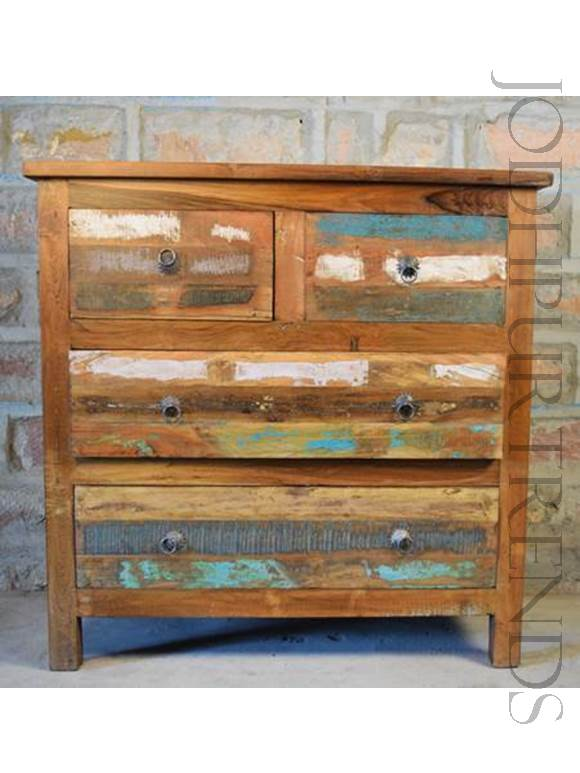 Reclaimed Drawer Chest | Shabby Chic Home Decor Furniture