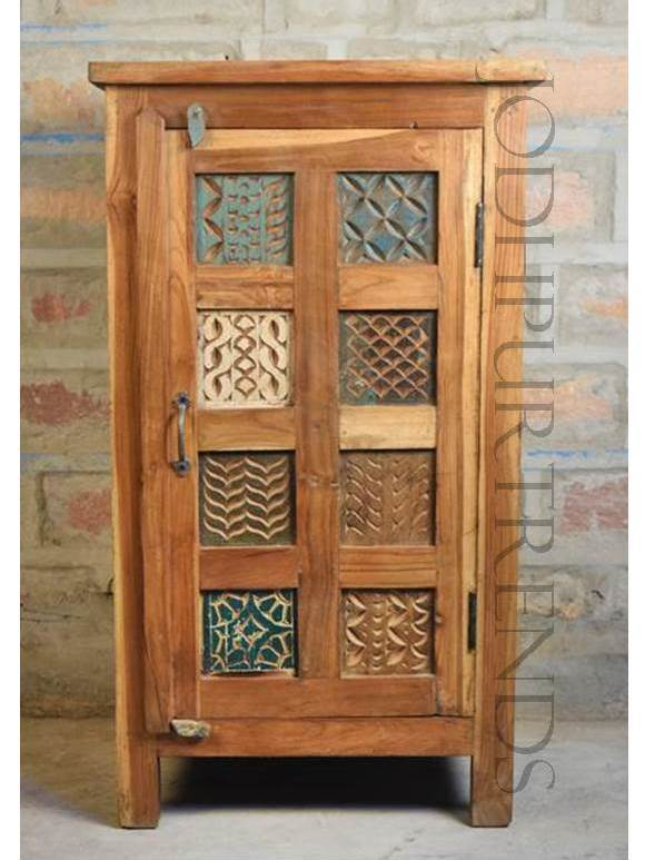 Reclaimed Indian Cabinet | Indian Rustic Furniture
