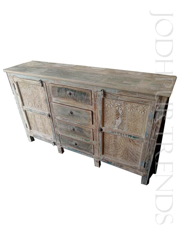 Sideboard in Distressed Design | India Furniture Online