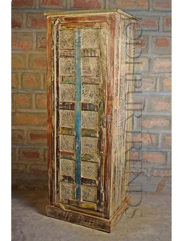 Antique Design Wardrobe | Vintage Furniture Wooden