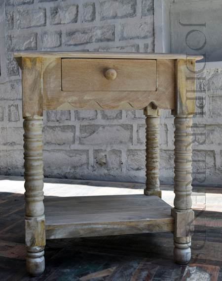 Bedside Console Table | Reclaimed Wooden Furniture Exporter