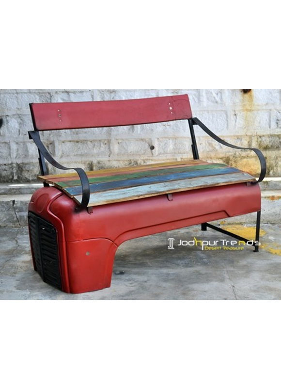 Tractor Bench | Furniture Jodhpur Exports India