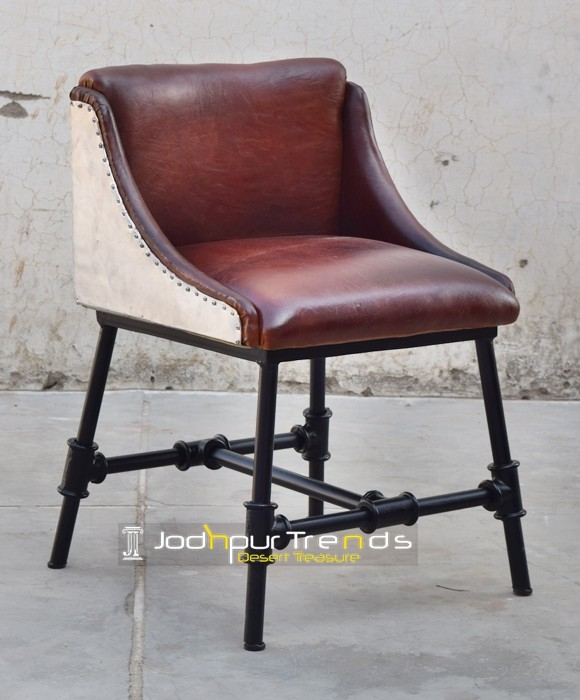 Leather Industrial Chair | Commercial Dining Chairs