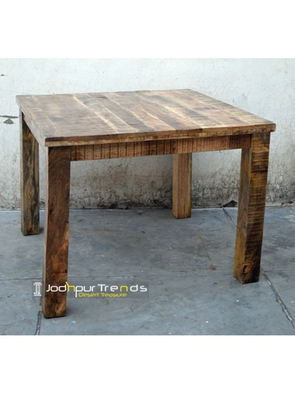 Reclaimed Wood Dining Table | Restaurant Dining Tables