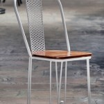Cafe Chair in Wood & Metal | Cafe Chairs Wooden