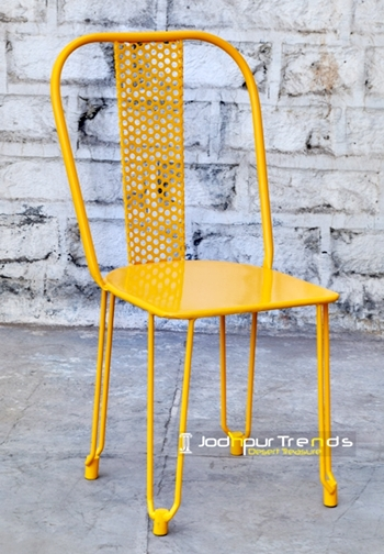 Cafe Chair in Yellow | Cafe Chair Design