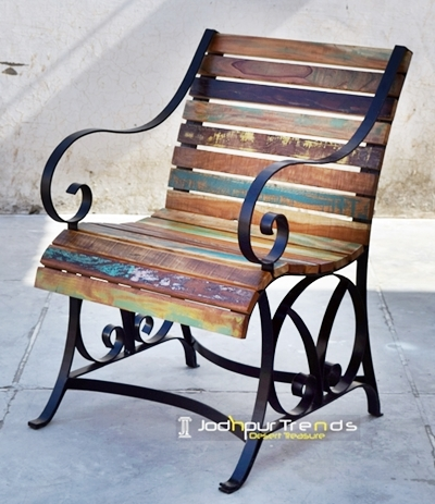 Windsor Chair in Reclaimed Wood | Cafe Furniture Online India