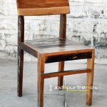 Reclaimed Dining Chair | Restaurant Furniture Manufacturers in Bangalore