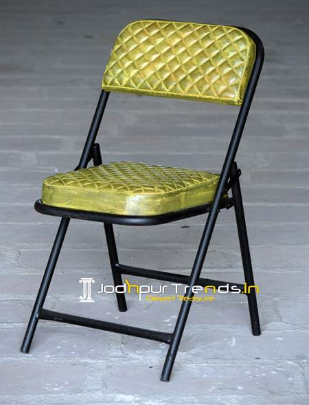 Furniture For Hospitality, folding chair, leather folding chair, restaurant chair, camp tent chair