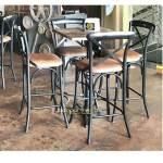 Adjustable Bar Table Cast Iron Bar Set Bar Furniture Luxury