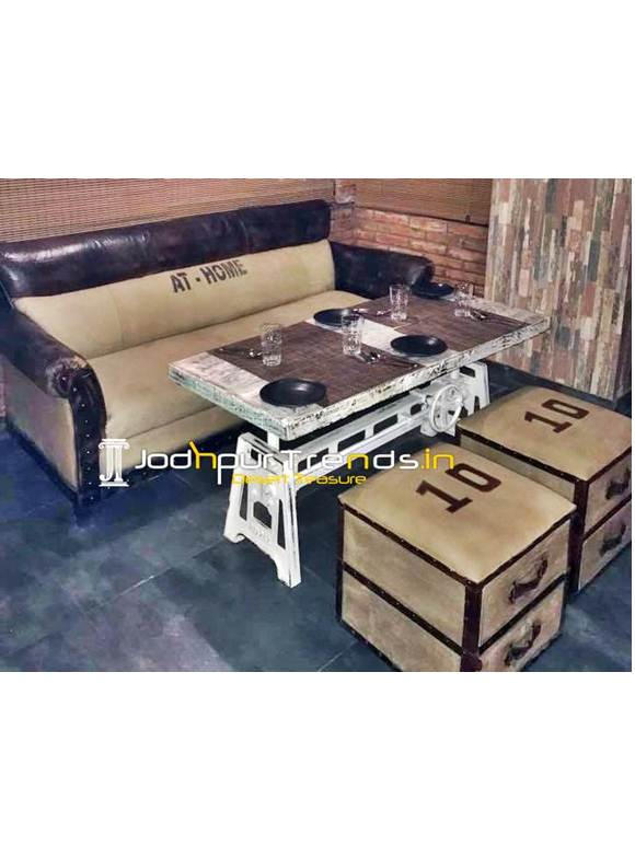 Bar Lounge Sofa Set Banquet Furniture Design
