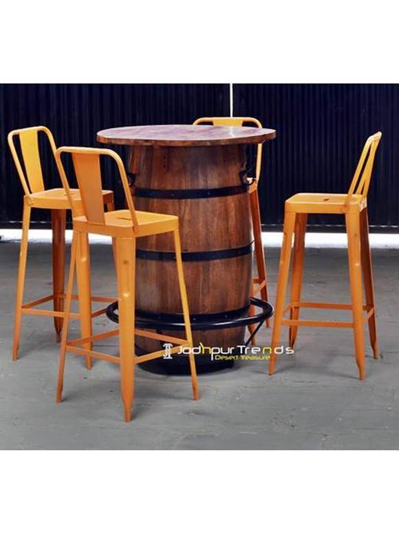 Unique Pub Furniture Barrel Table Set Pub Furniture Suppliers