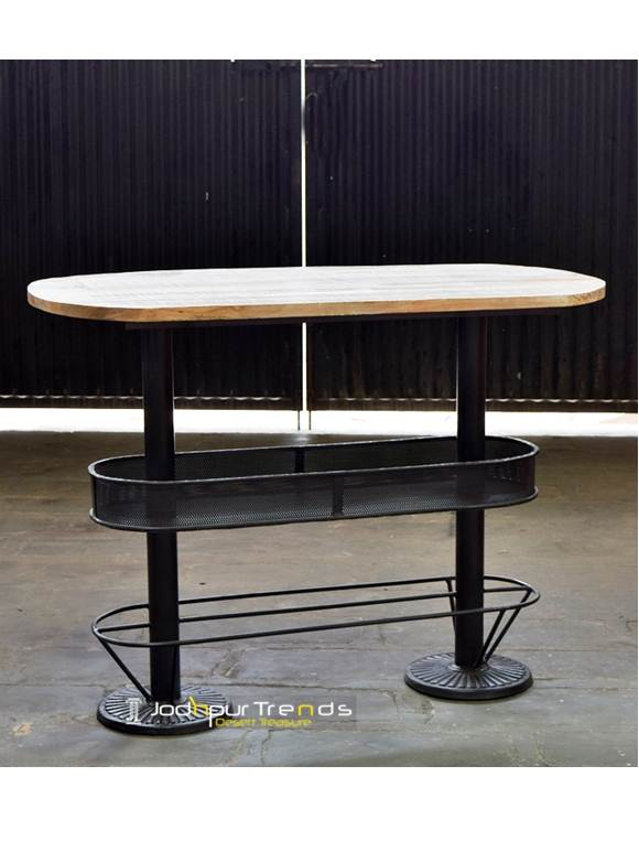 Cast Iron Height Pub Table Hospitality Furniture