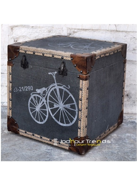Handmade Decorative Storage Foot Stool, hotel furniture designs for rooms