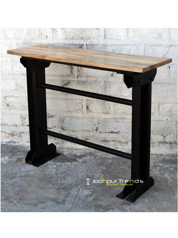 Iron Bar Console Table Wrought Iron Furniture Online