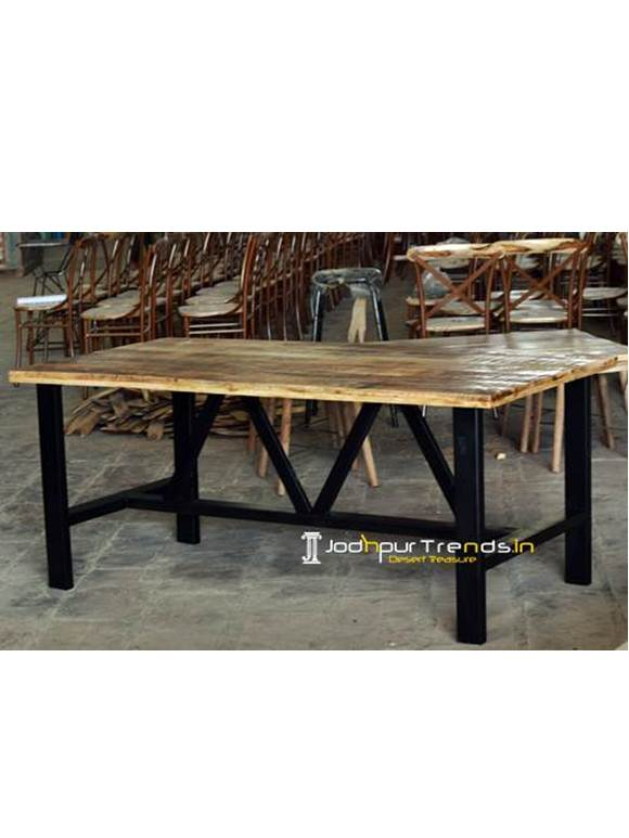 Mango Ruff Rectangle Table Canteen Tables