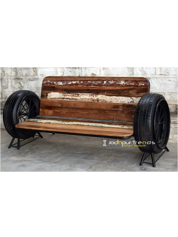 Recycled Sofa Bench Indian Furniture Direct