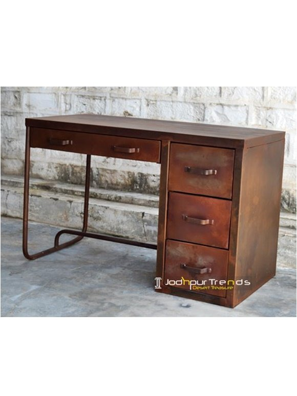 Rustic Study Table Rajasthan Furniture Manufacturers