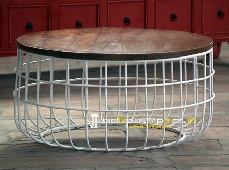 Round Shape Hotel Room Coffee Table Furniture