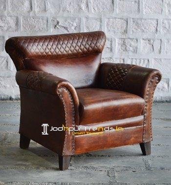 Leather Club Design Jodhpur Leather Sofa Design