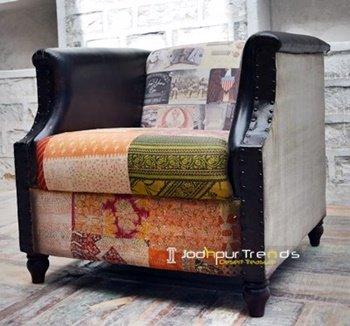 Multi Material Handcrafted Jodhpur Sofa Design