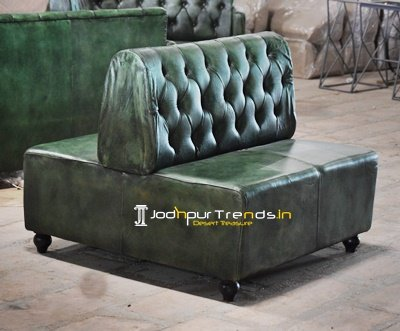 Duel Side Two Seater Leather Sofa Manufacture