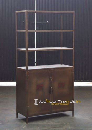 Modern Build Metal Storage Display Unit