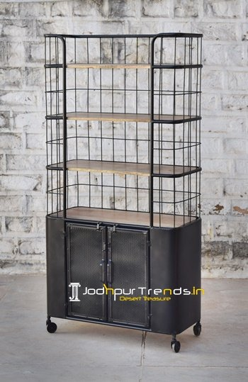 Storage Space Heavy Duty Showroom Display Unit