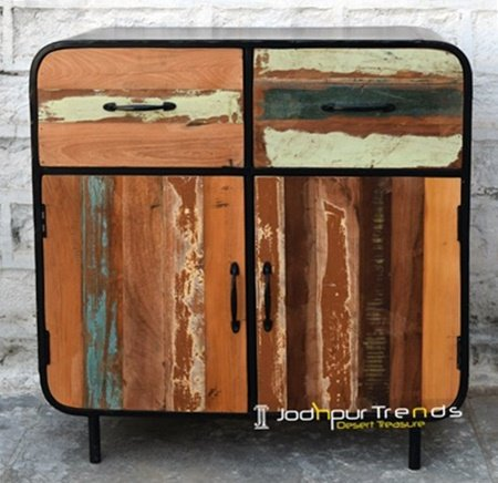 Industrial Metal Design Cabinet Jodhpur Furniture