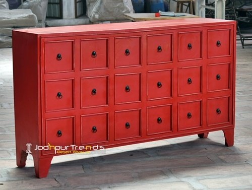 Painted Drawer Chest | Real Wood Furniture