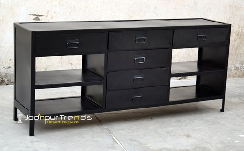 Powder Coated Metal Cabinet For Furniture Store