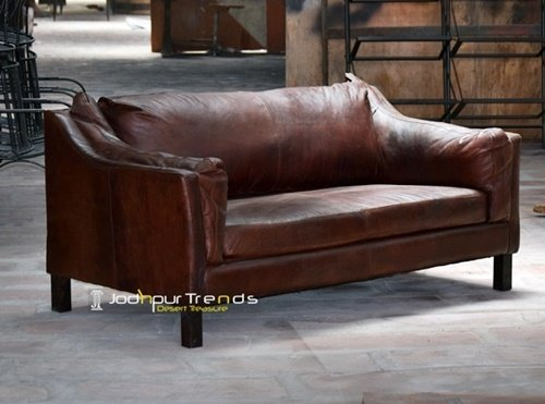 Soft Leather Original Manufactured Handcrafted Sofa
