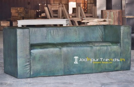 Hotel Lobby Leather Sofa Furniture Design