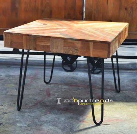 Live Solid Natural Wood Coffee Table Furniture Design