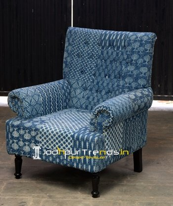 Patchwork Handcrafted Indian Gudri Fabric Sofa