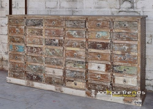 Heavy Duty Wooden Drawer Chest Furniture