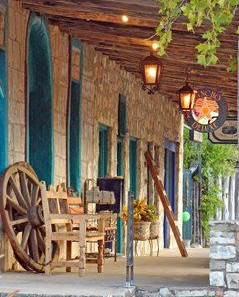 Rancho Deluxe Furniture store in Wimberley Texas