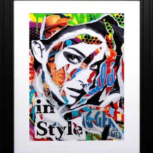 IN STYLE by Jo Di Bona 2015 40x50 technique mixte sur papier