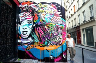 Mur de la Radio Marais, Paris 3
