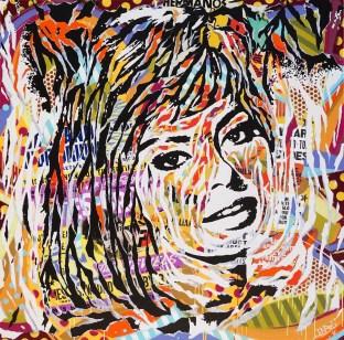 SOPHIA AURORA by Jo Di Bona 2016 150x150 technique mixte sur toile
