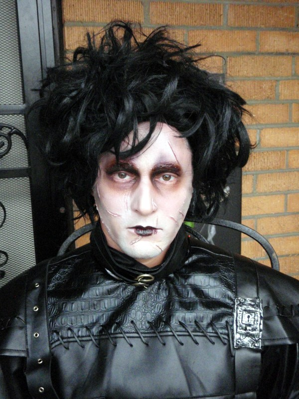 Johnny Depp Edward Scissorhands Makeup
