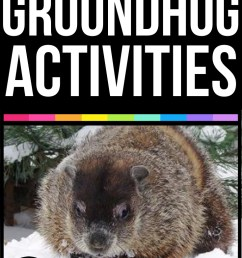 GROUNDHOG DAY ACTIVITIES [ 1100 x 735 Pixel ]