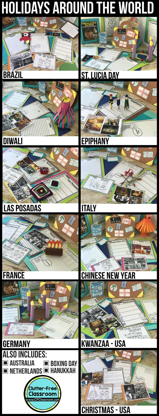 medium resolution of Holidays Around the World Activities