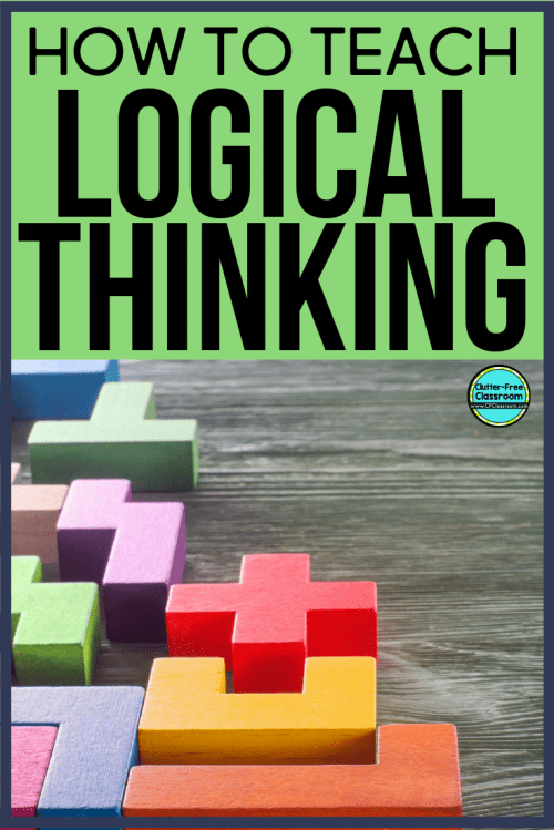 small resolution of Logic Puzzles for Kids: A Strategy for Improving Problem Solving Skills    Clutter-Free Classroom   by Jodi Durgin